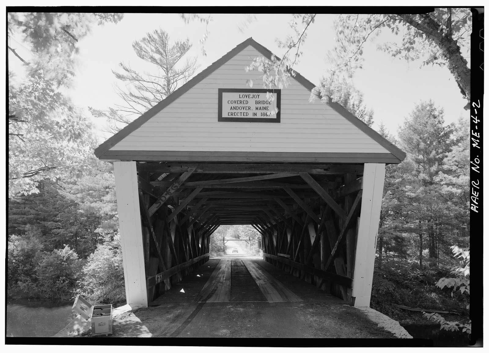 Lovejoy Bridge, Andover, Oxford County, ME
