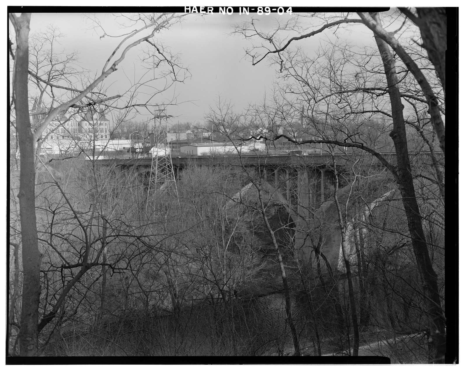 Main Street Bridge, Spanning East Fork Whitewater River, Richmond, Wayne County, IN