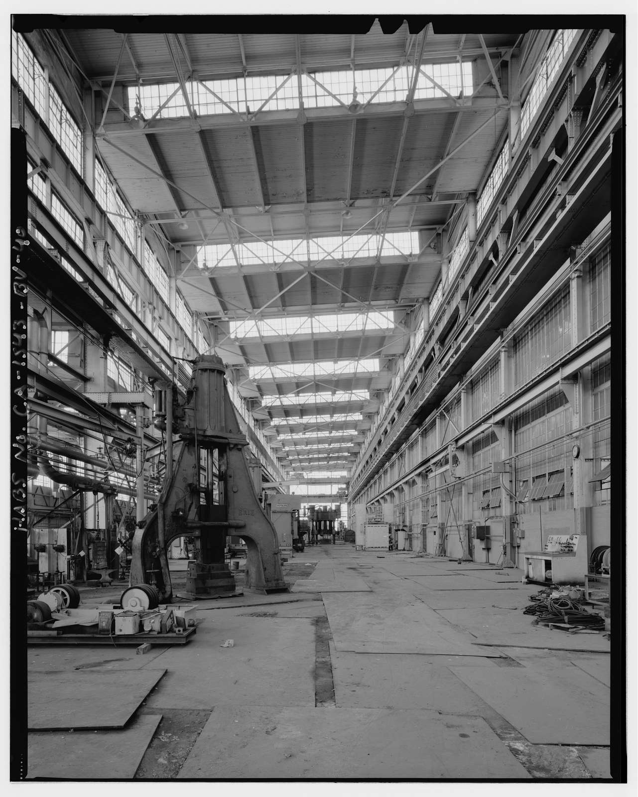 Mare Island Naval Shipyard, Forge Shop, Railroad Avenue, southwest corner of Railroad Avenue & Twelfth Street, Vallejo, Solano County, CA