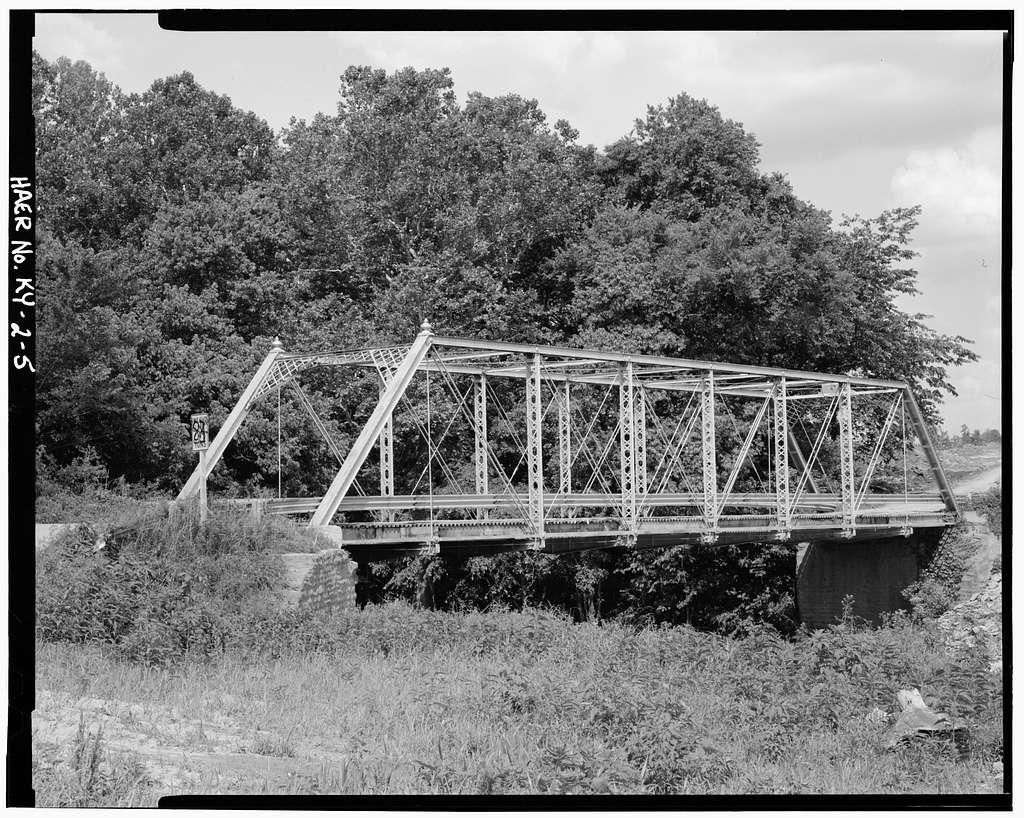 North Fork Bridge, Spanning North Fork of Licking River, Milford, Bracken County, KY