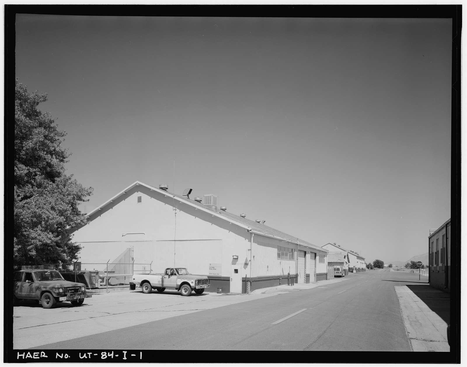 Ogden Arsenal, Motor Repair Shop, 6135 Aspen Avenue, Layton, Davis County, UT