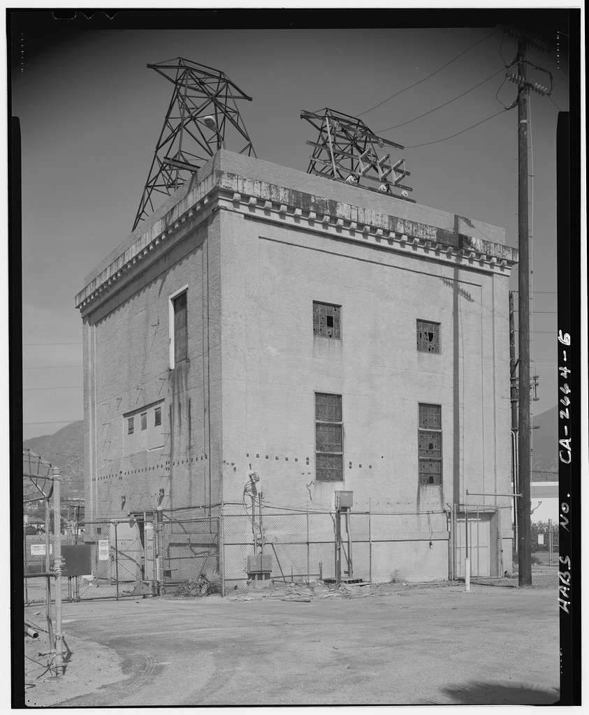 Olive Switching Station, 13355 San Fernando Road, Los Angeles, Los Angeles County, CA