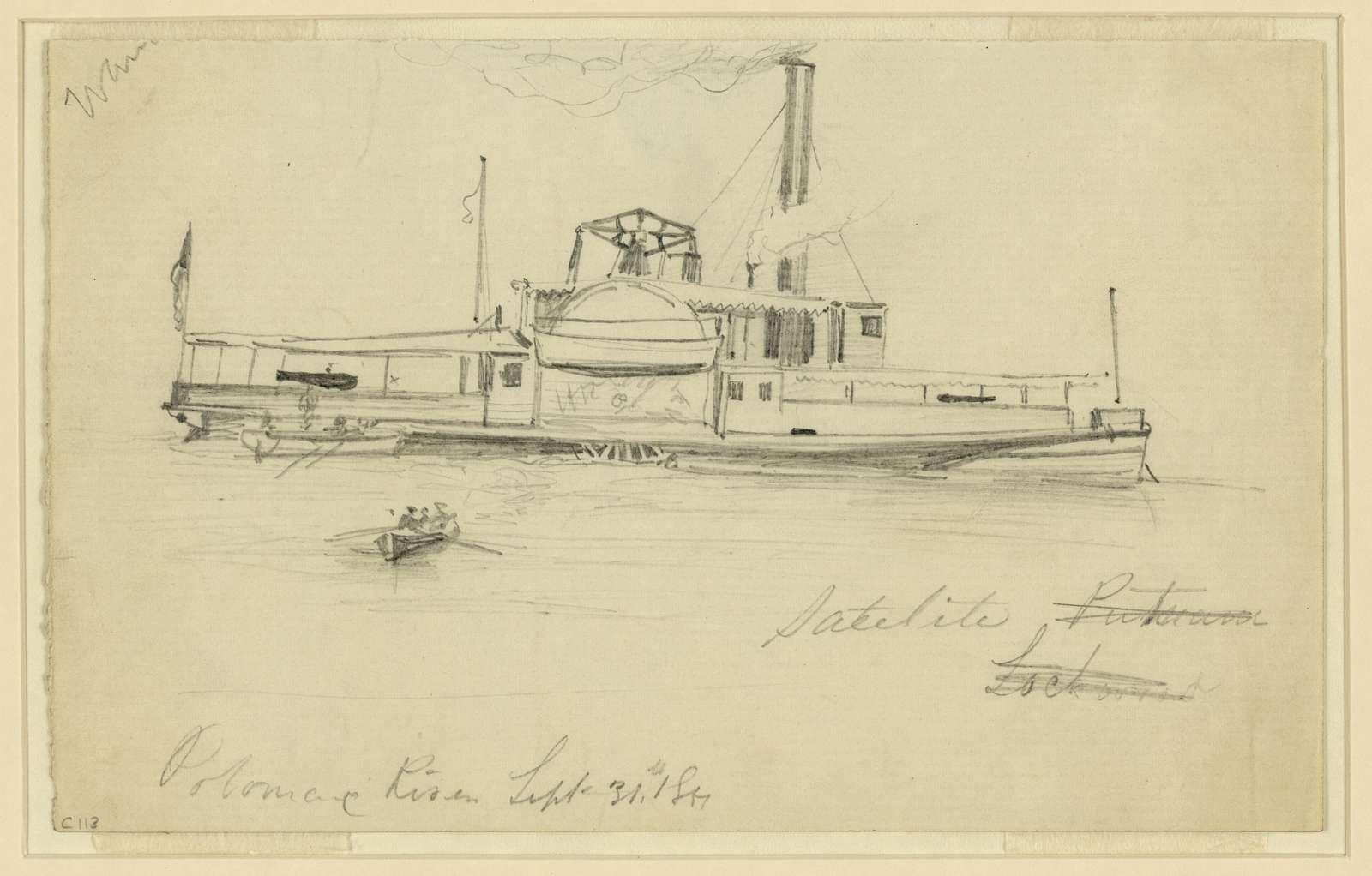 Potomac River, Sept. 31st, 1861