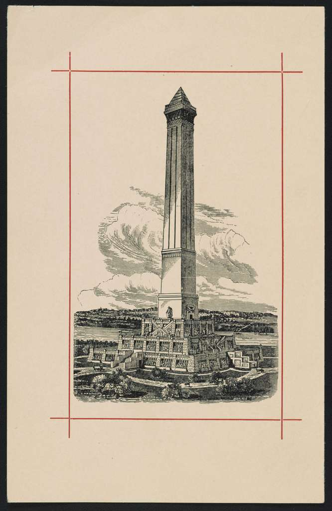 [Proposed design for the completion of the Washington Monument, Washington, D.C.] / Bartle.