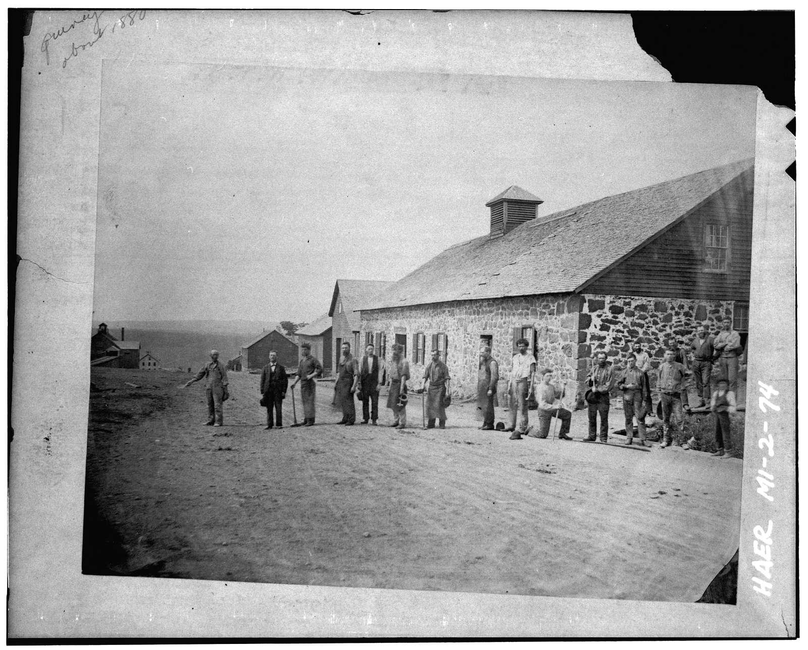 Quincy Mining Company, Hancock, Houghton County, MI