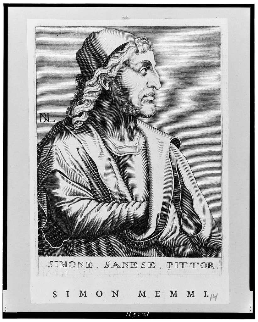 Simone, Sanese, Pittor, Simon Memmi / DL.