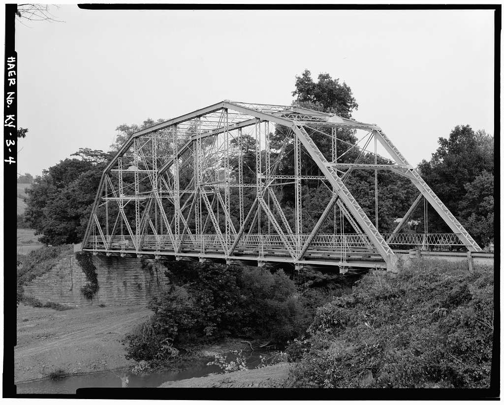Starnes Bridge, Spanning Eagle Creek, Holbrook, Grant County, KY