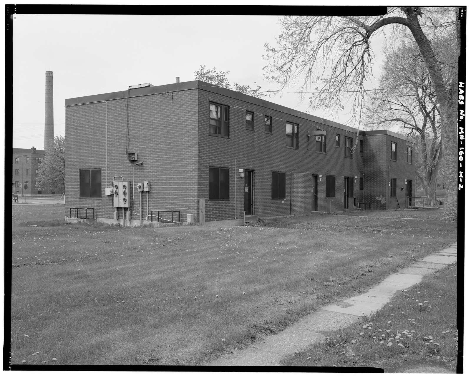 Sumner Field Homes, Building E-14, 808-820 North Bryant Avenue, Minneapolis, Hennepin County, MN