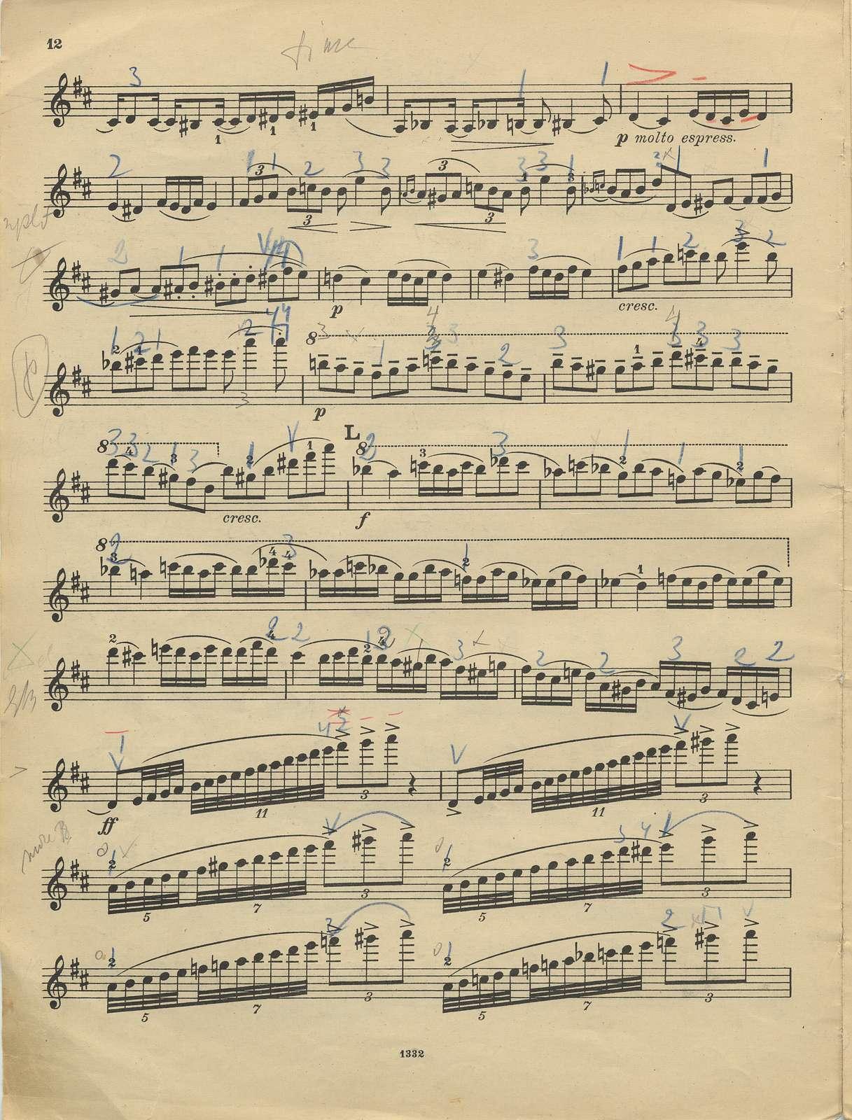 Tchaikovsky, Peter Ilich. Concerto for Violin, Op. 35, D Major