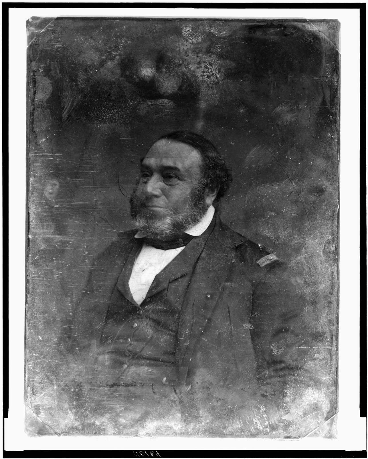 Dude with a Top Hat, Partly Solarized 1/6th-plate Daguerre