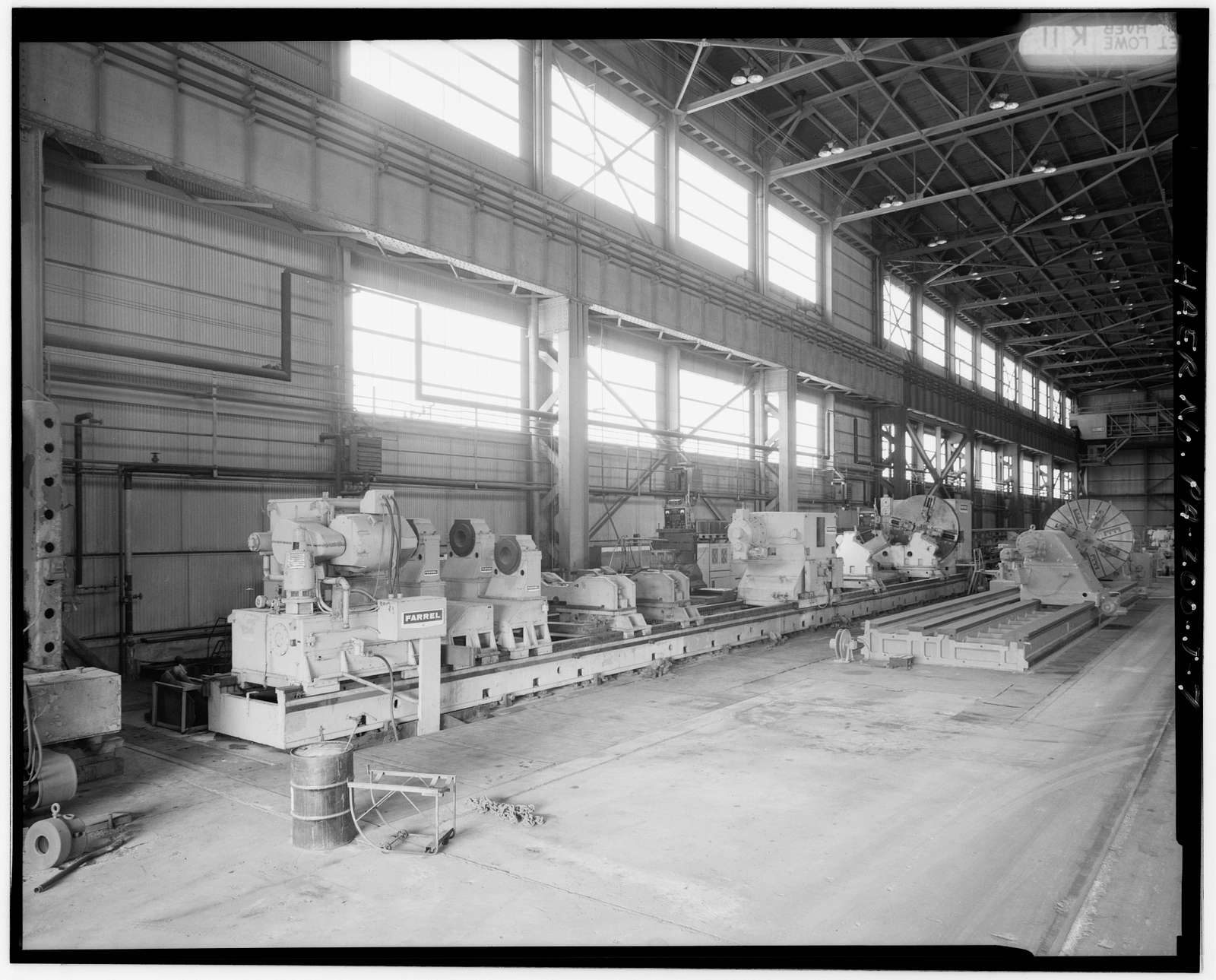 U.S. Steel Homestead Works, Machine Shop No. 2, Along Monongahela River, Homestead, Allegheny County, PA