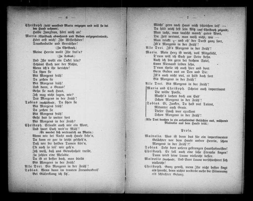 Viola. Libretto. German