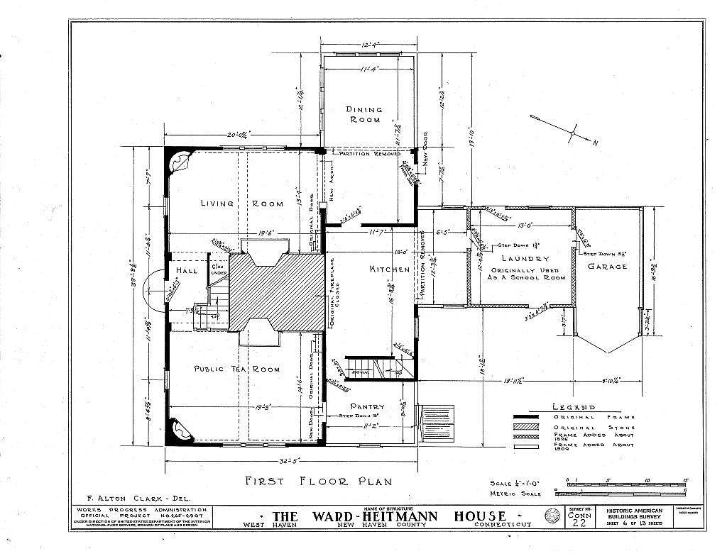 Ward-Heitmann House, 277 Elm Street, West Haven, New Haven County, CT