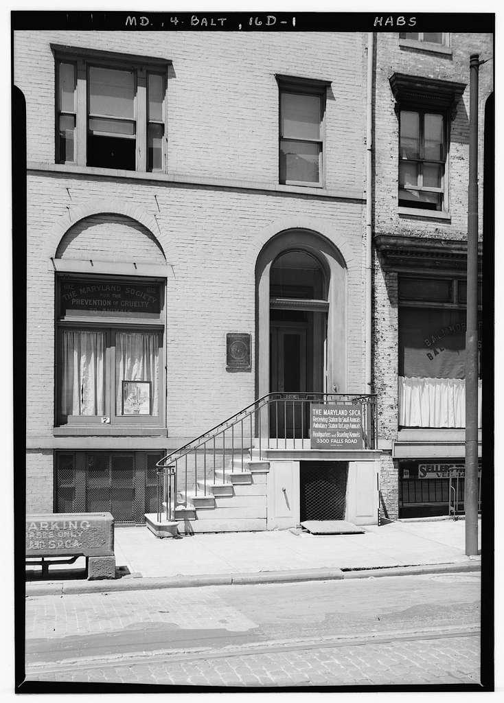 612 North Calvert Street (Row House), Baltimore, Independent City, MD