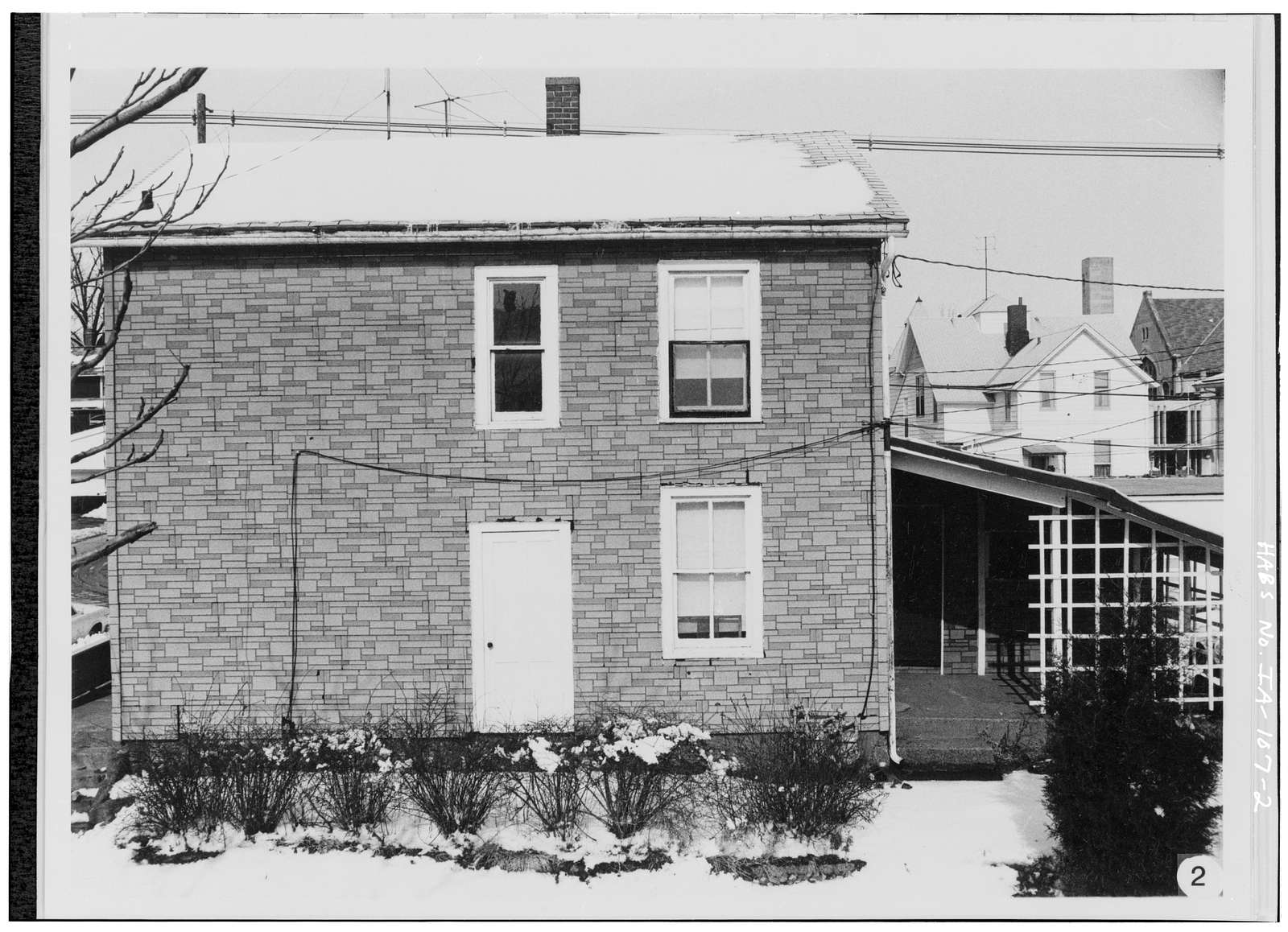 Alexander Clark Houses, 307-309 Chestnut Street, Muscatine, Muscatine County, IA