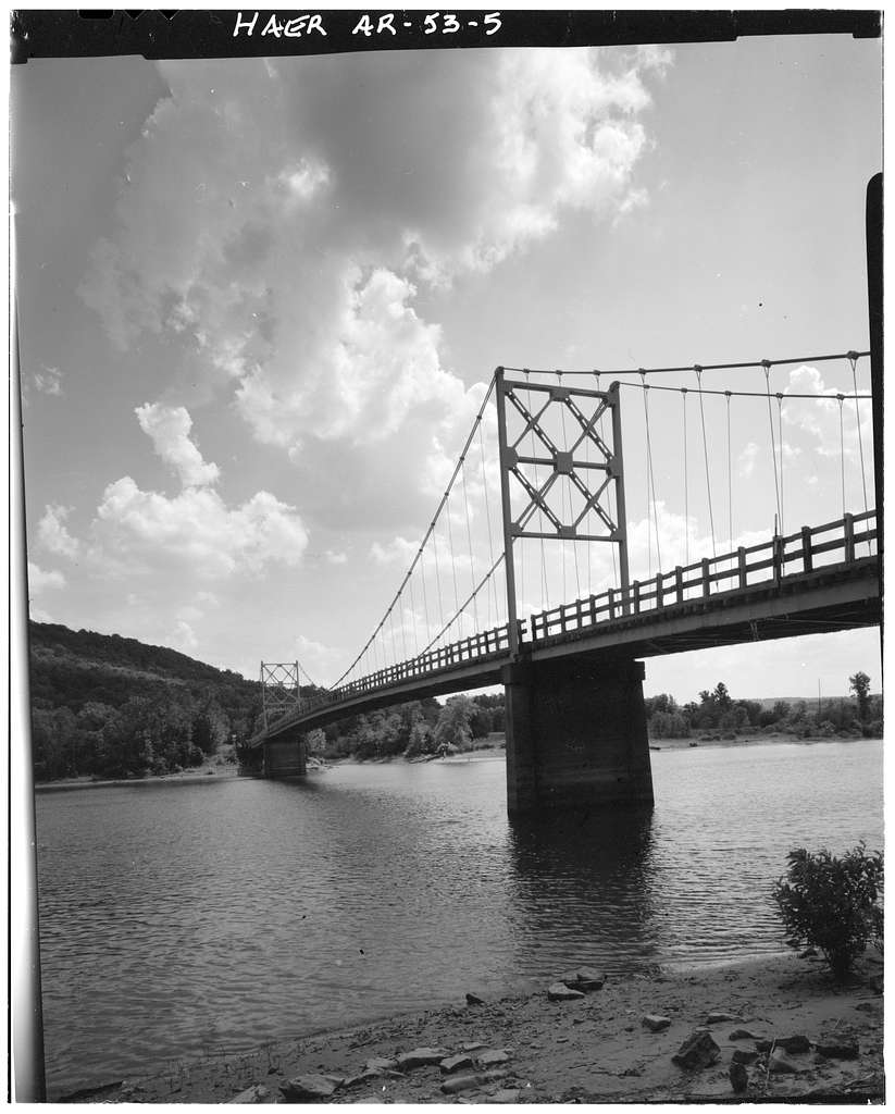 Beaver Bridge, Spanning White River at State Highway No. 187, Beaver, Carroll County, AR