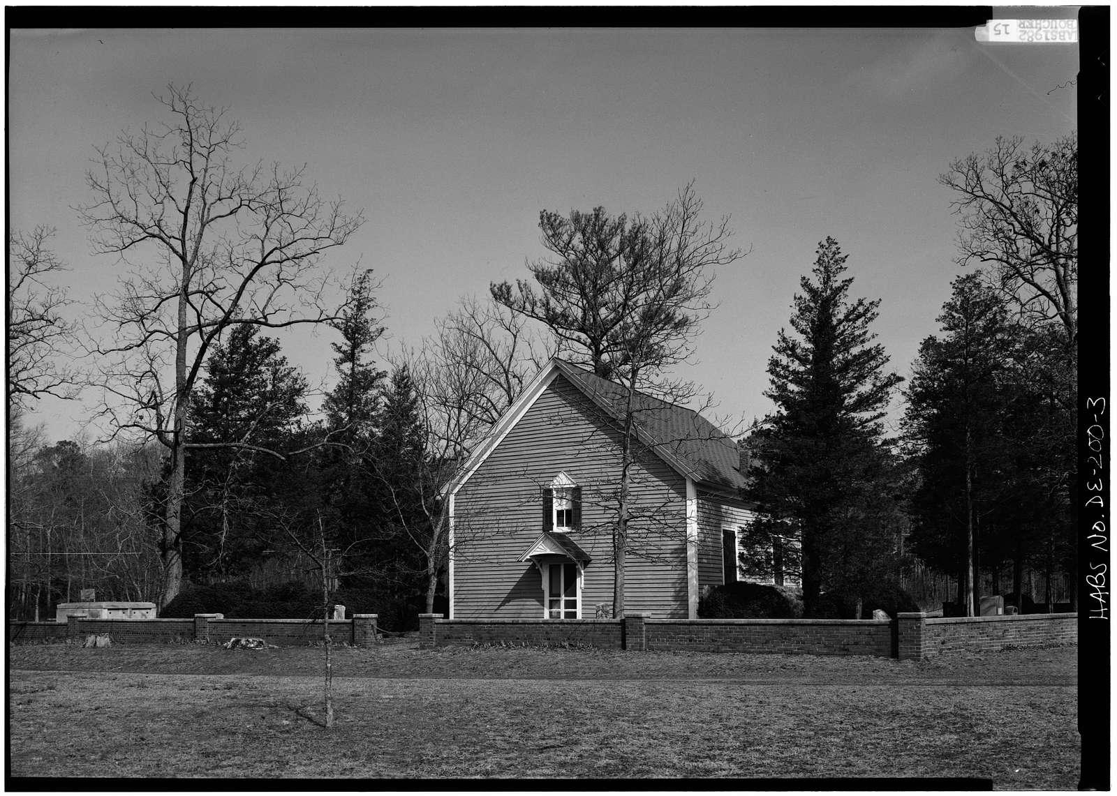 Blackwater Presbyterian Church, State Road 54, Clarksville, Sussex County, DE