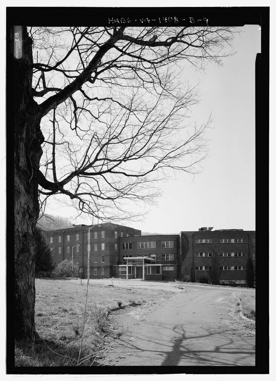 Blue Ridge Sanatorium, Building No. 1902, East side of State Route 20, .25 mile south of I-64, Charlottesville, Charlottesville, VA