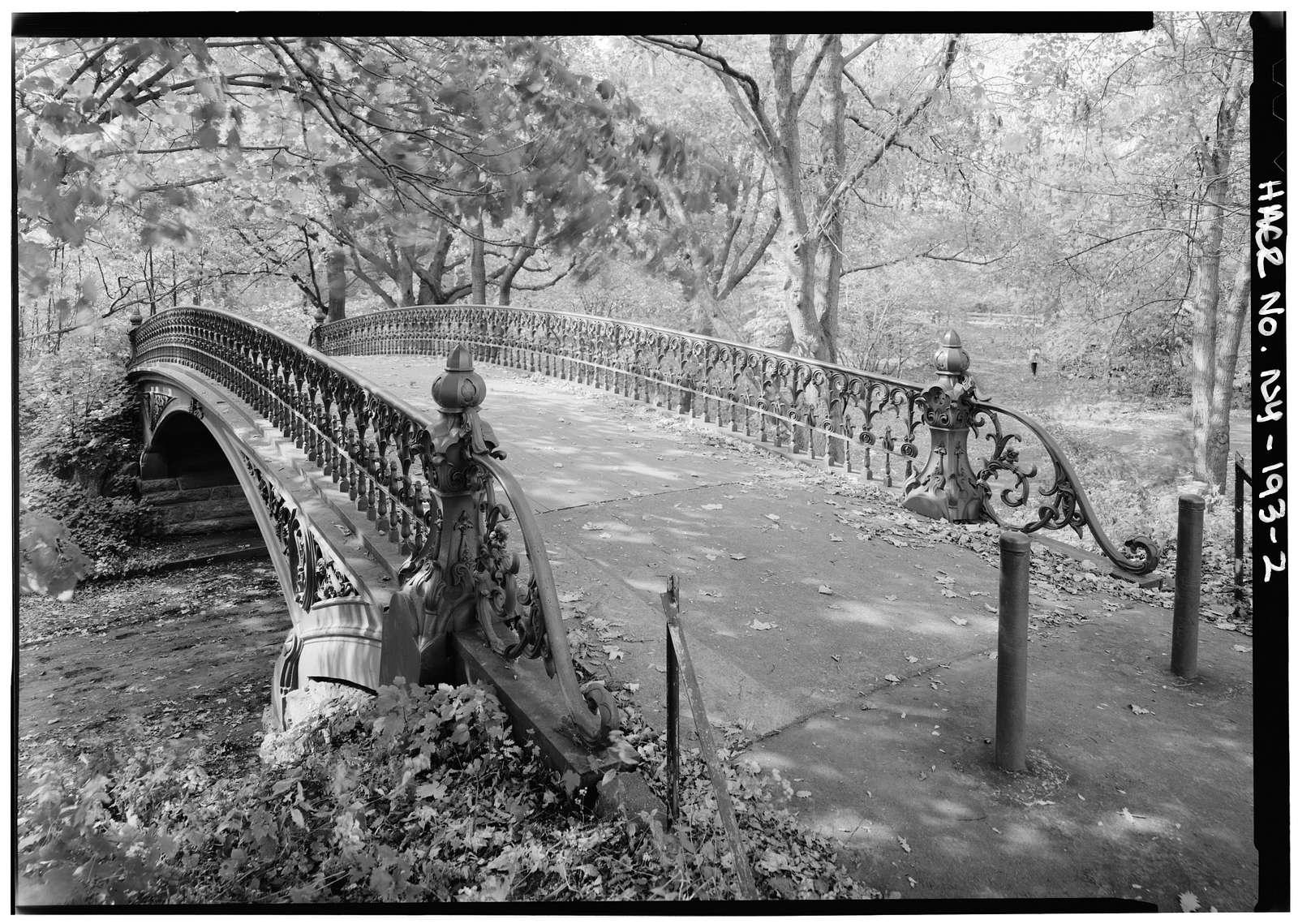 Central Park Bridges, Bridge No. 27, Central Park, Southwest of Reservoir, New York, New York County, NY