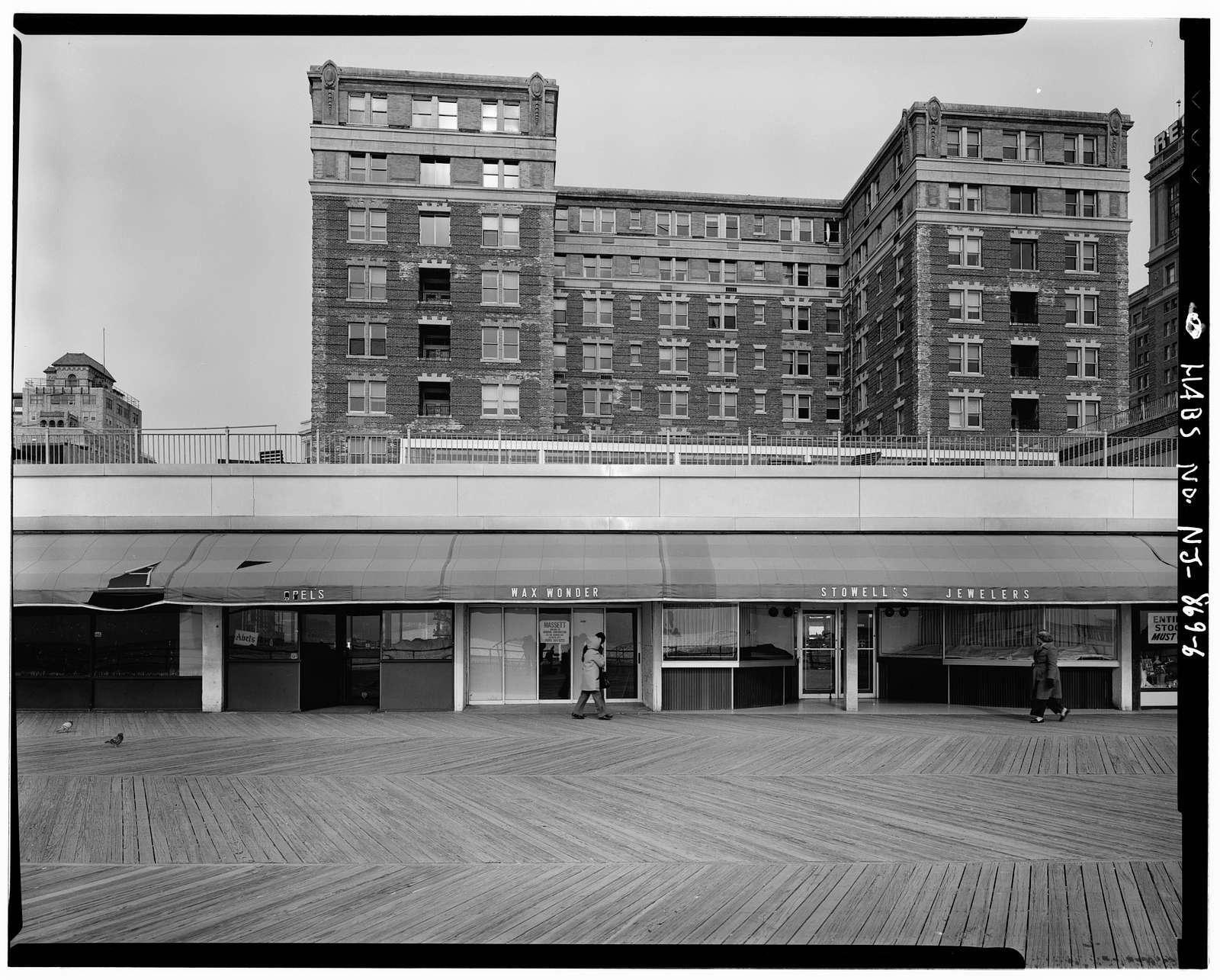 Chalfonte Hotel, Pacific & North Carolina Avenues, Atlantic City, Atlantic County, NJ
