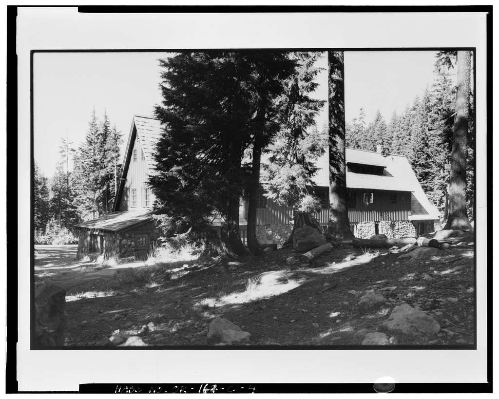 Crater Lake Administration Complex, Mess Hall, Munson Valley, Rim Drive off State Highway 62, Klamath Falls, Klamath County, OR
