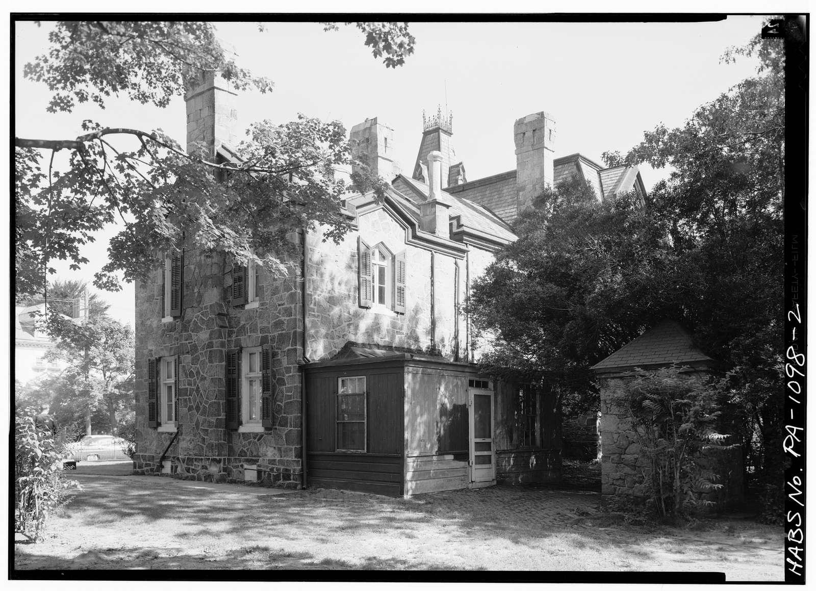 Ebenezer Maxwell House, 200 West Tulpehocken Street, Philadelphia, Philadelphia County, PA