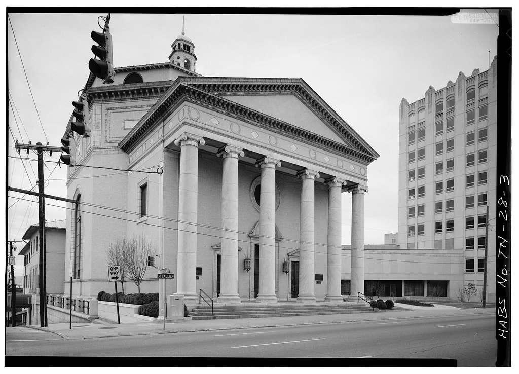 First Presbyterian Church, McCallis Avenue & Douglas Street, Chattanooga, Hamilton County, TN