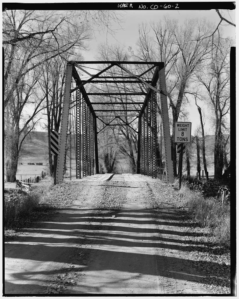 Four Mile Bridge, Spanning Elk River on County Road 42, Steamboat Springs, Routt County, CO