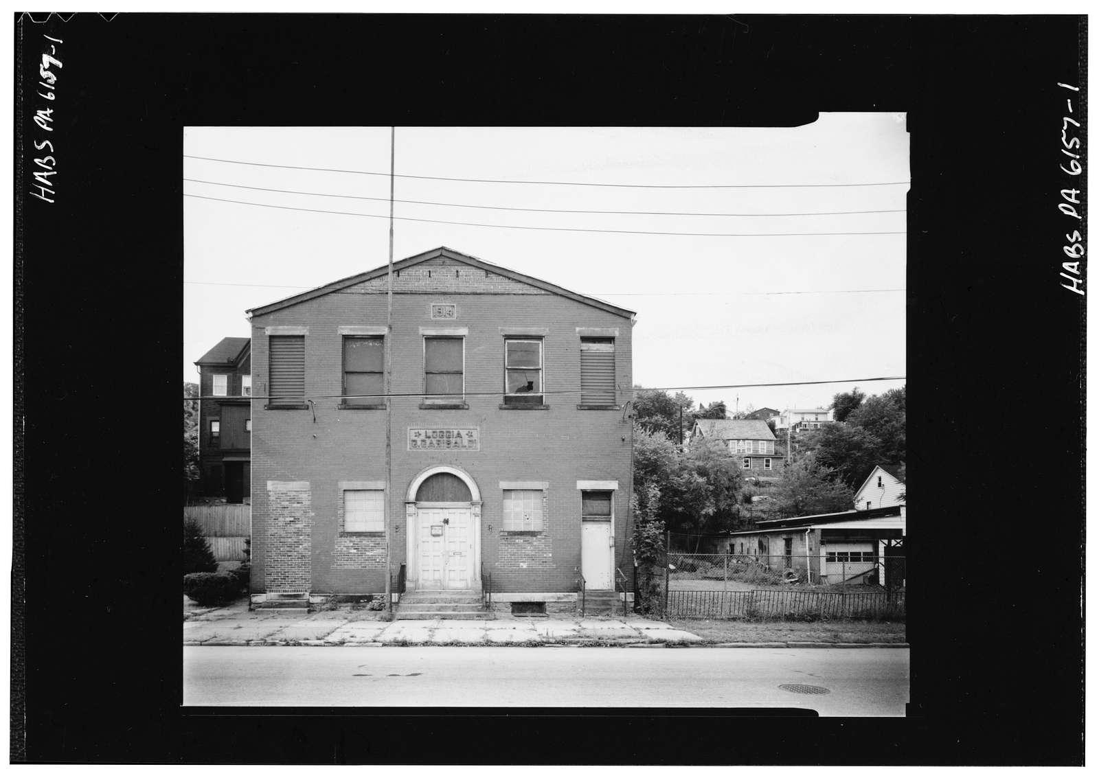 G. Garibaldi Hall, Lowry Avenue, Jeannette, Westmoreland County, PA