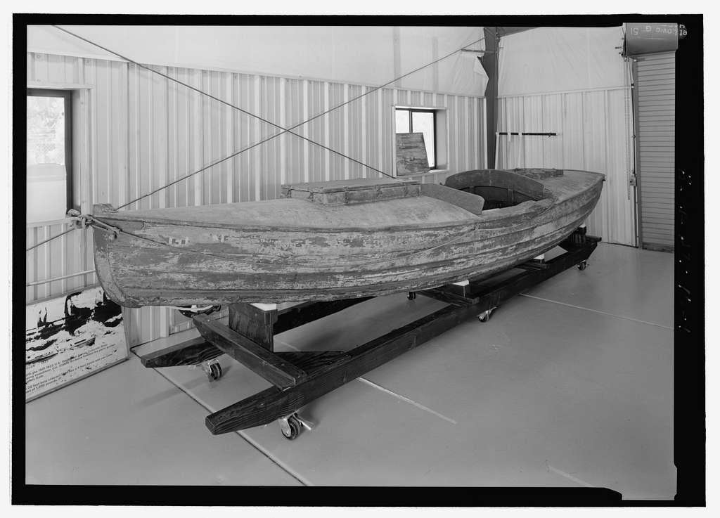 Galloway Type Cataract Boat GLEN, Grand Canyon, Coconino County, AZ