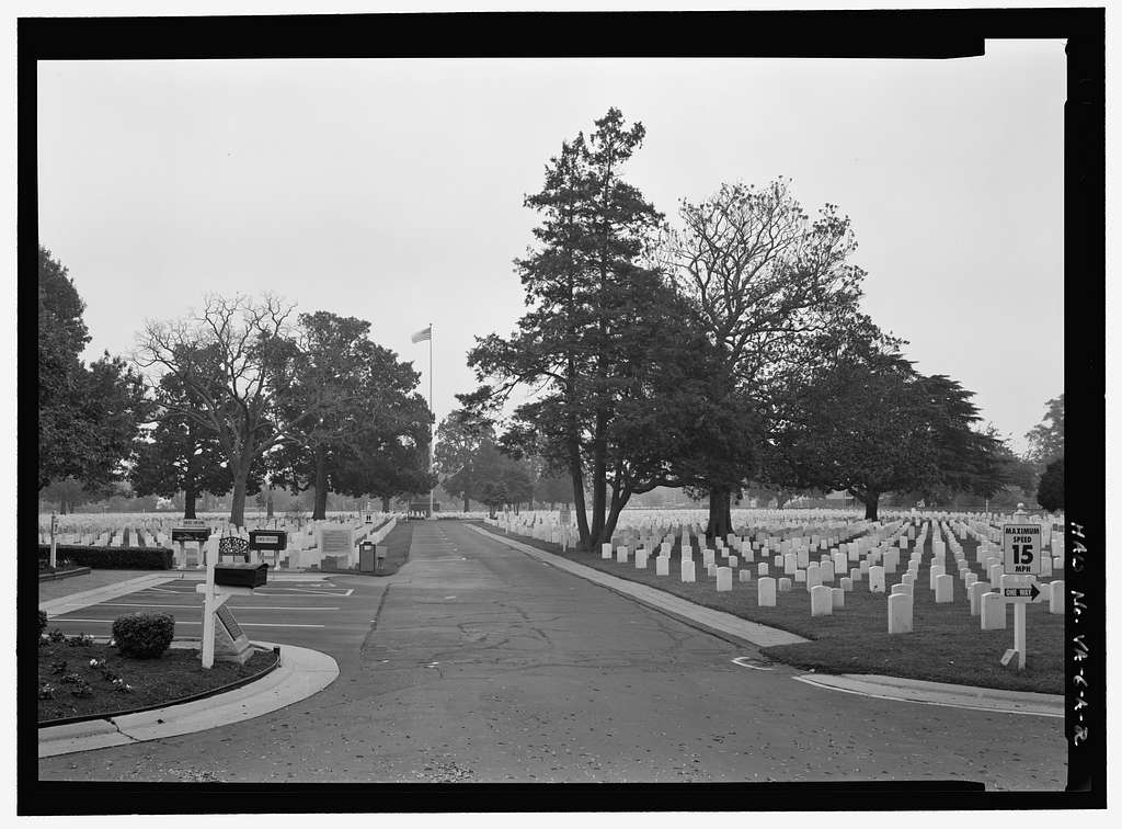 Hampton National Cemetery, Main Tract, Cemetery Road at Marshall Avenue, Hampton, Hampton, VA