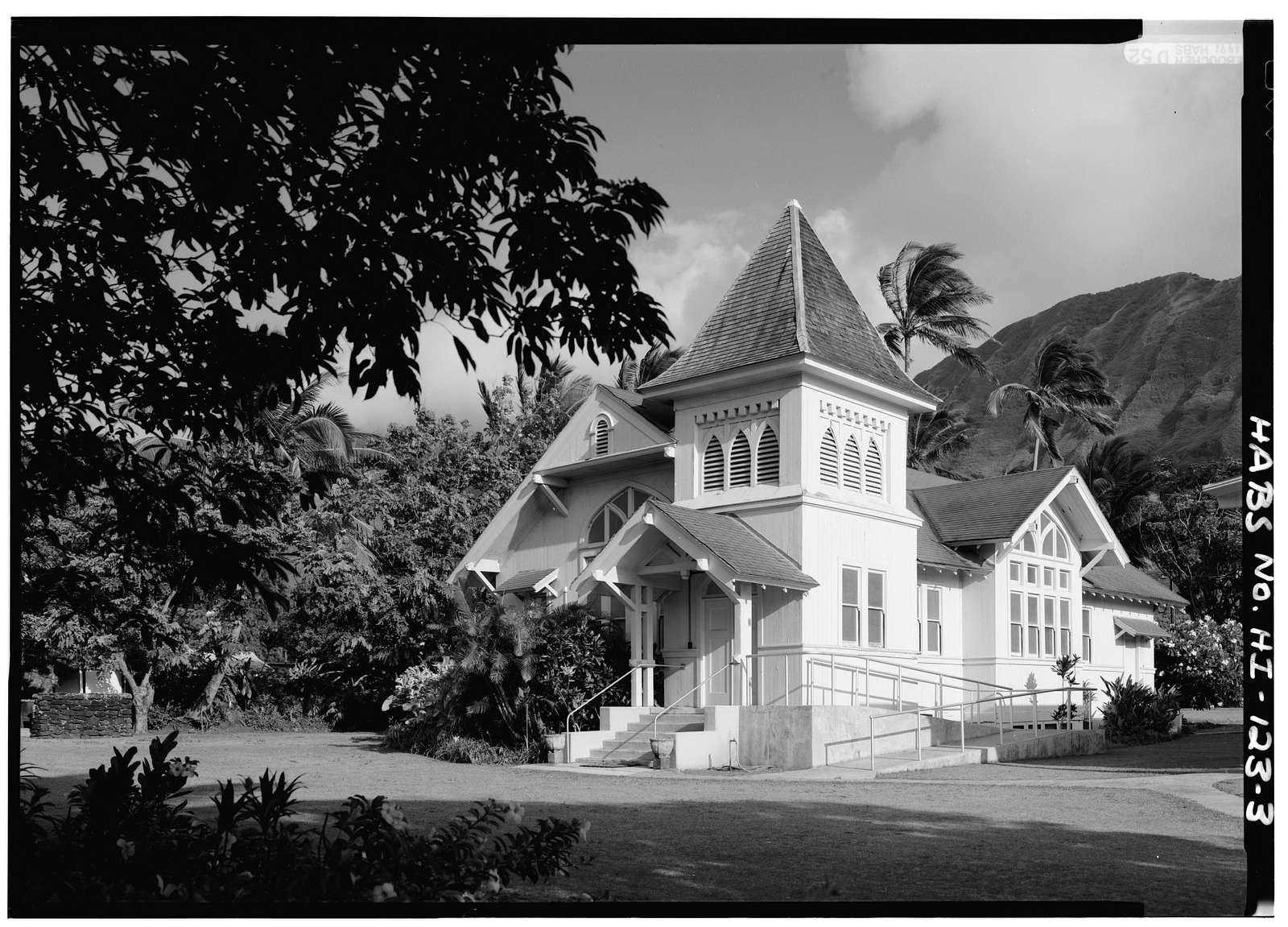 Kanaana Hou Calvinist Church, Moloka'i Island, Kalaupapa, Kalawao County, HI