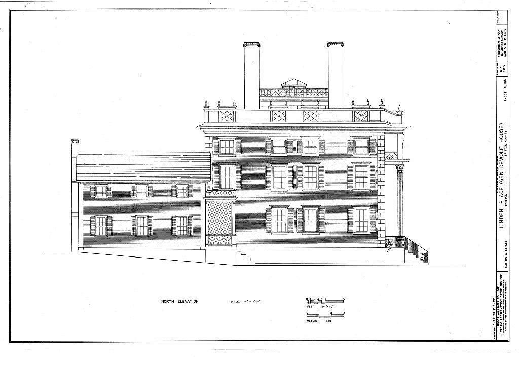 Linden Place, 500 Hope Street, Bristol, Bristol County, RI
