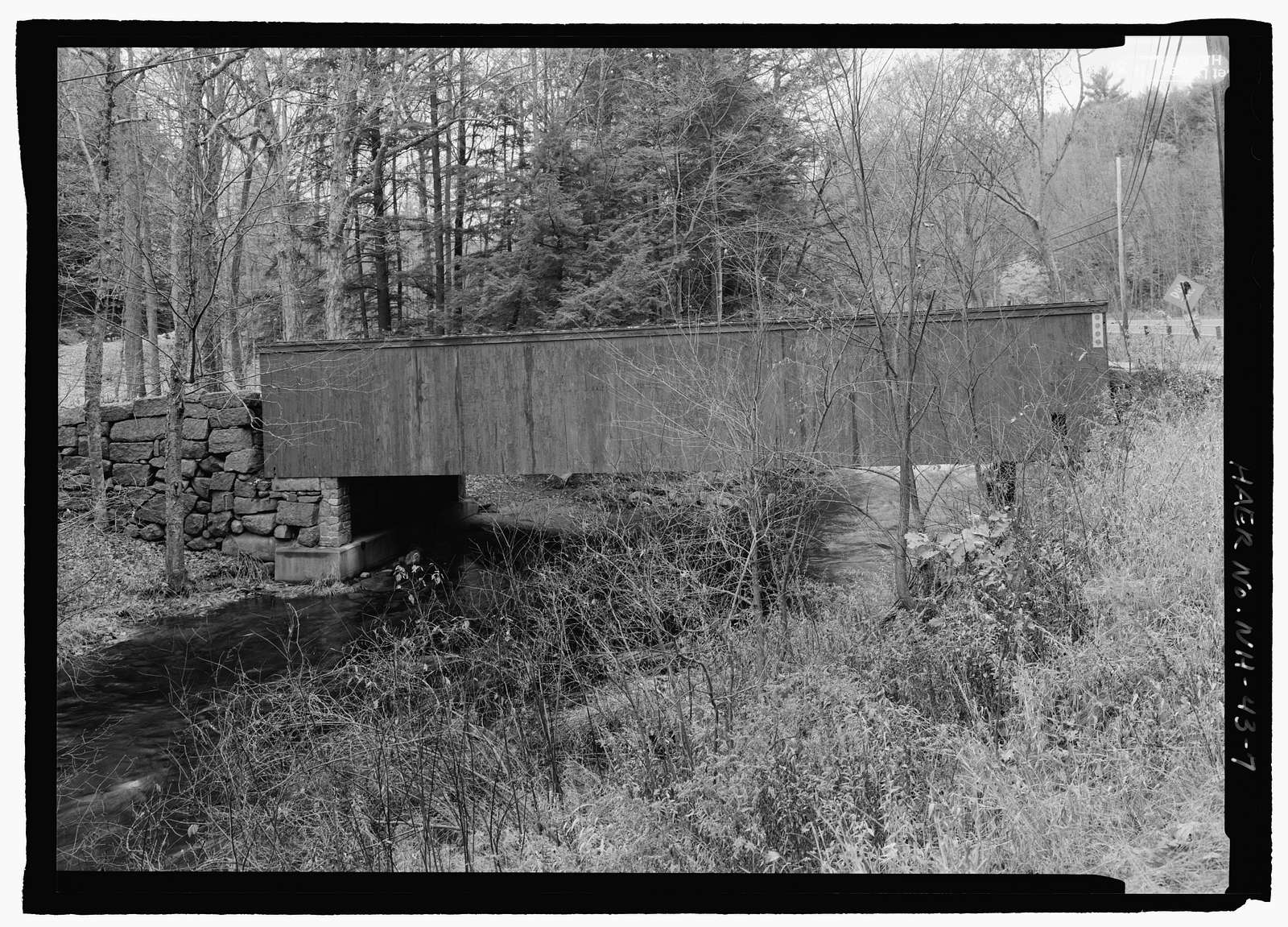 Livermore Bridge, Spanning Blood Brook at Russell Hill Road, Wilton, Hillsborough County, NH