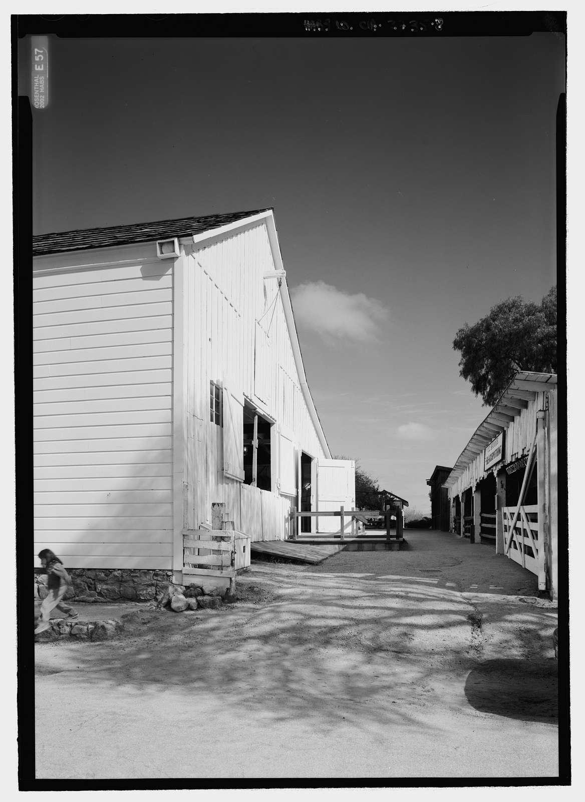 Livery-Plaza Stable, San Juan Bautista, San Benito County, CA