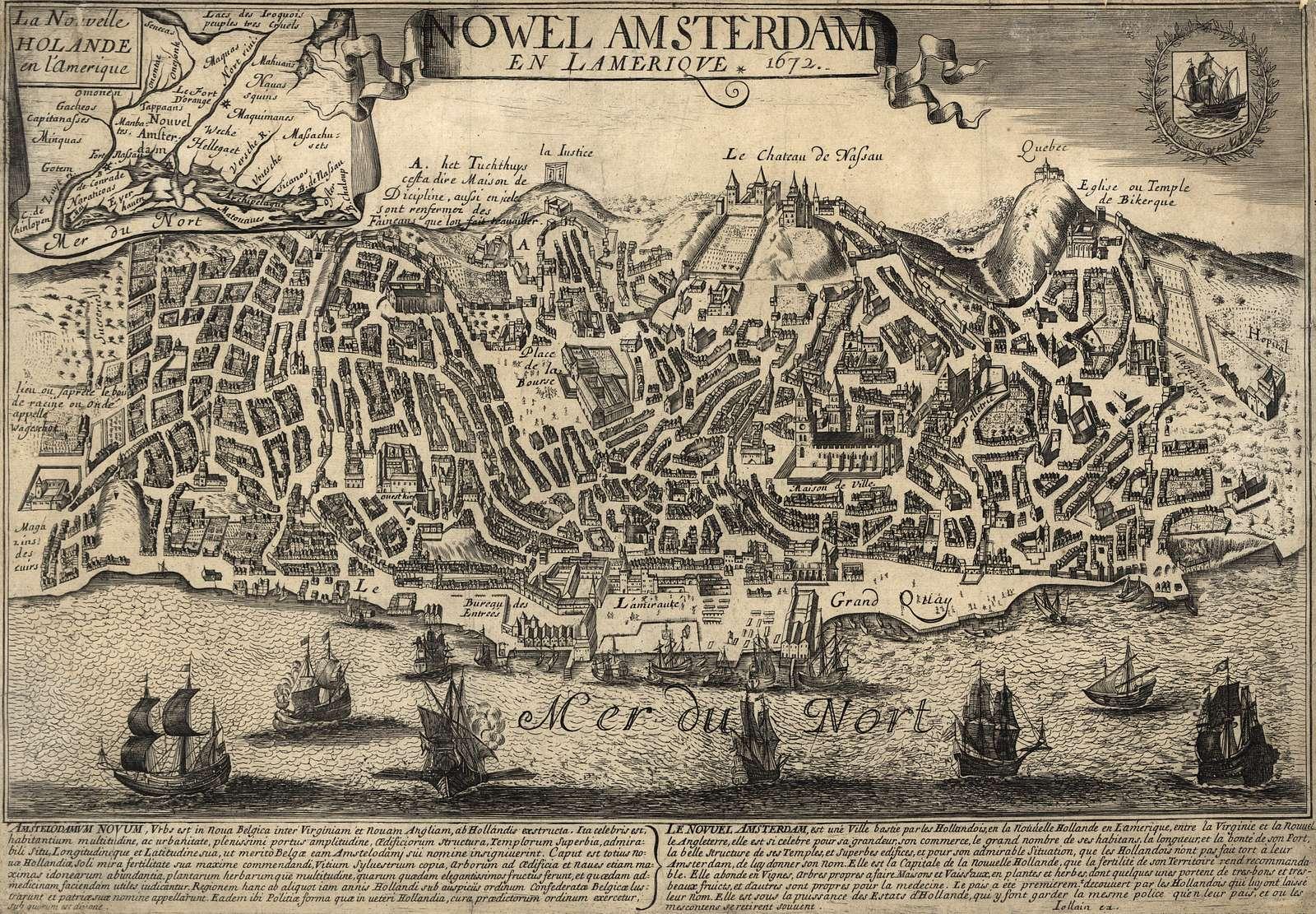 Nowel Amsterdam en Lameriqve : 1672 /