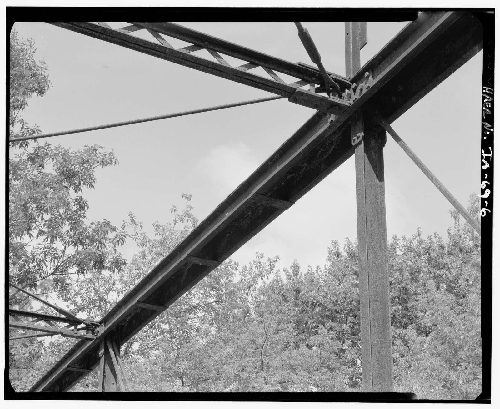 Pine Mill Bridge, Spanning Pine Creek, Muscatine, Muscatine County, IA