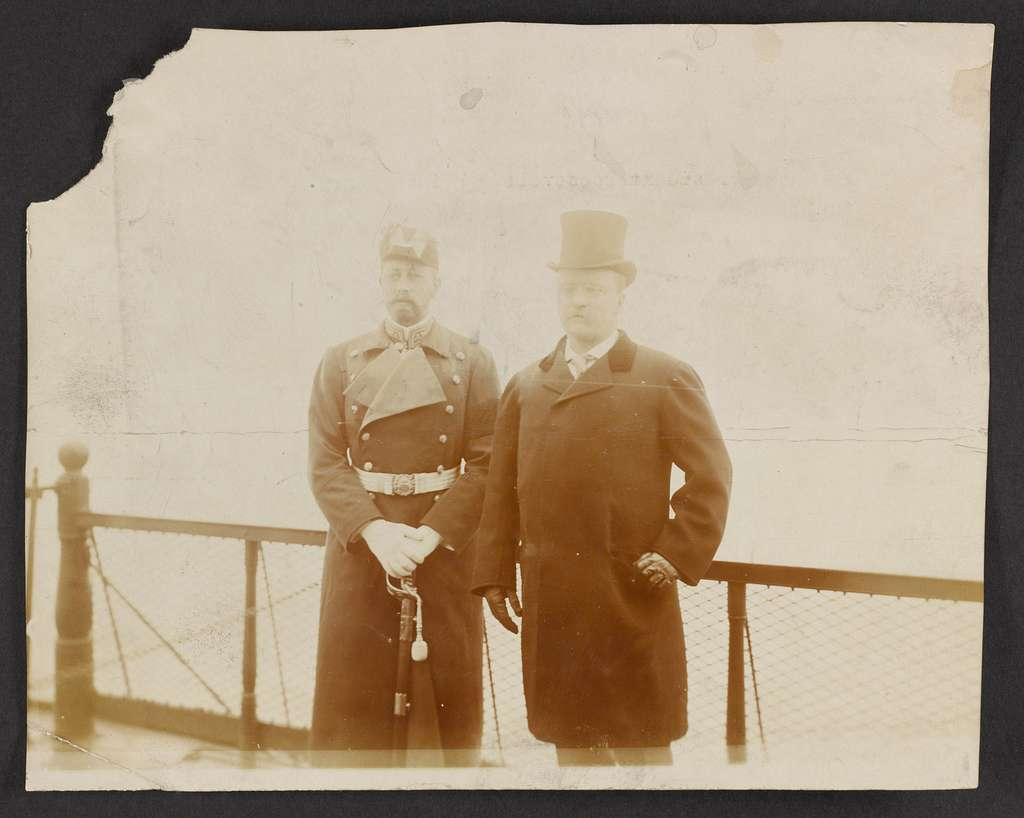 President Roosevelt and Prince Henry