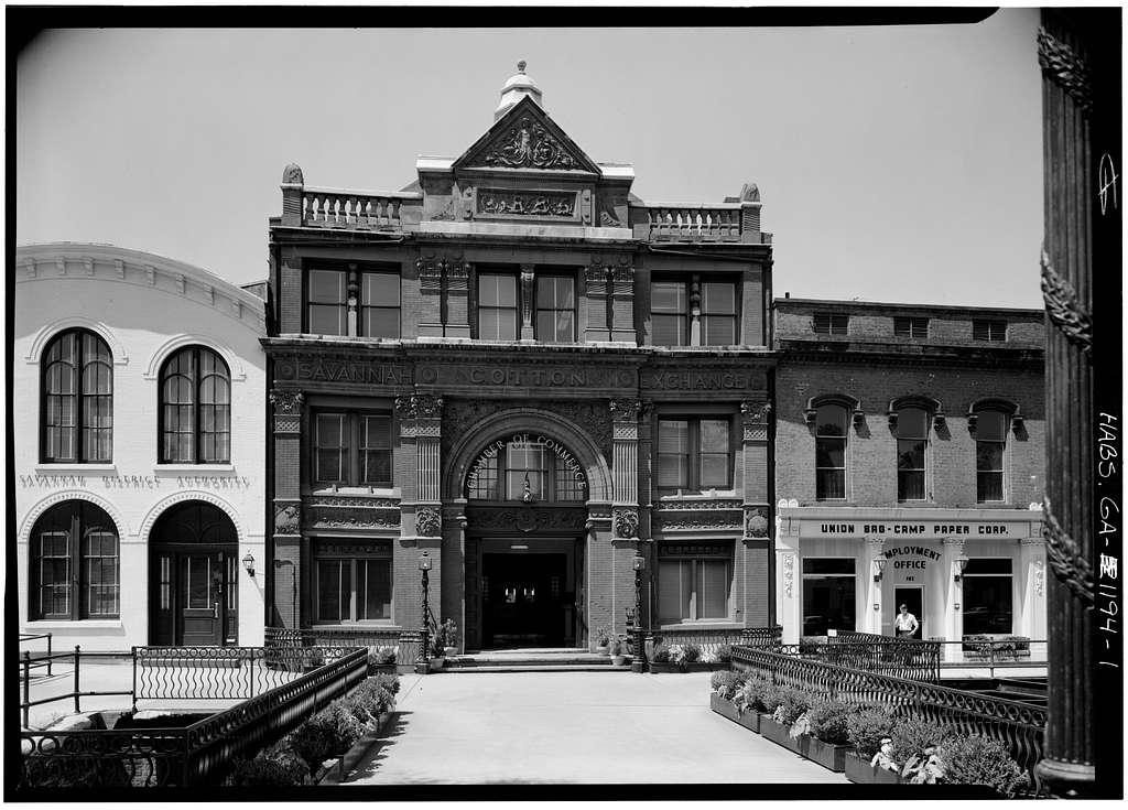 Savannah Cotton Exchange, 100 East Bay Street, Savannah, Chatham County, GA