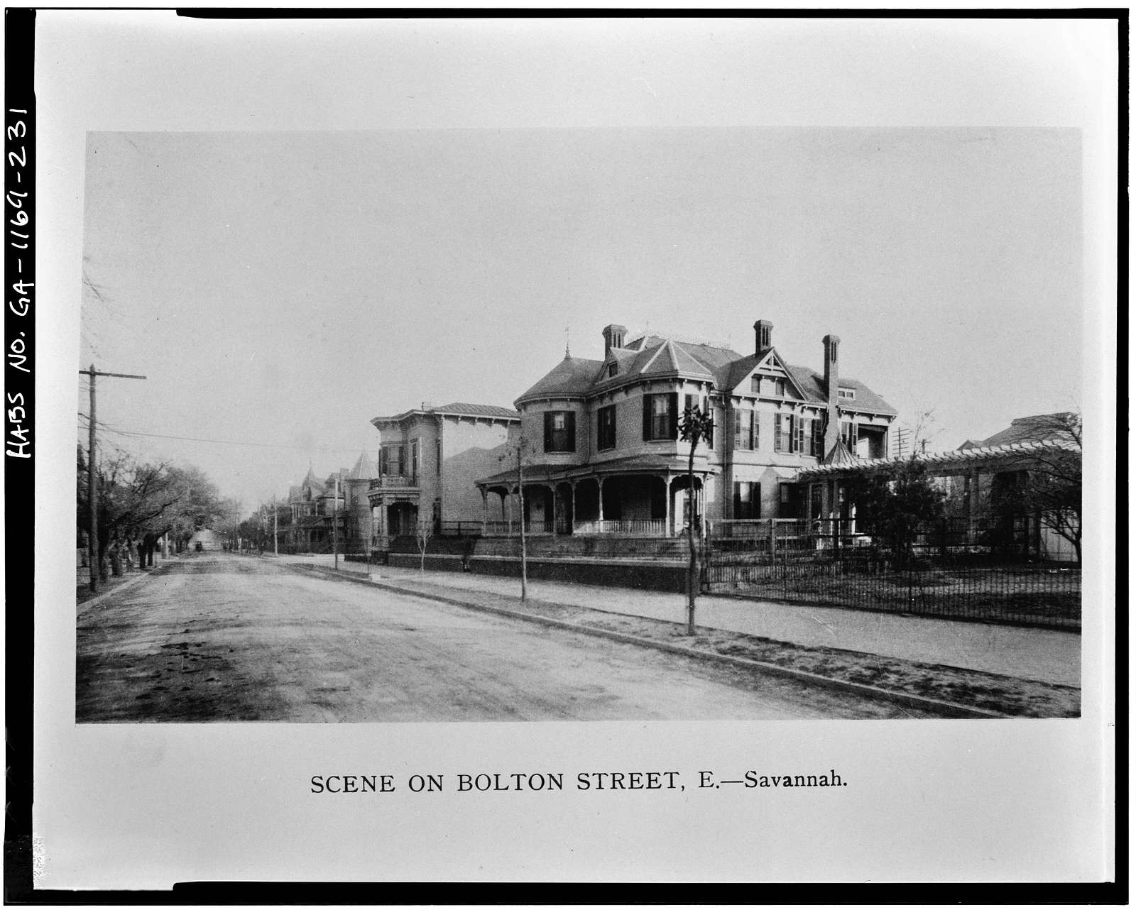 Savannah Victorian Historic District, Bounded by Gwinnett, East Broad, West Broad Street & Anderson Lane, Savannah, Chatham County, GA