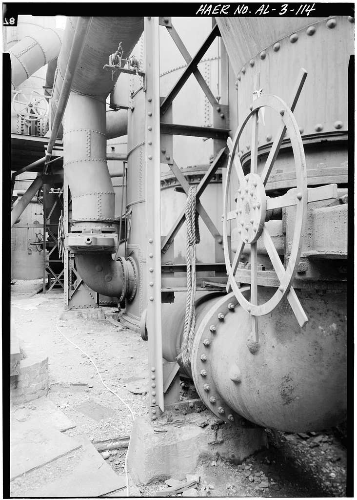Sloss-Sheffield Steel & Iron, First Avenue North Viaduct at Thirty-second Street, Birmingham, Jefferson County, AL
