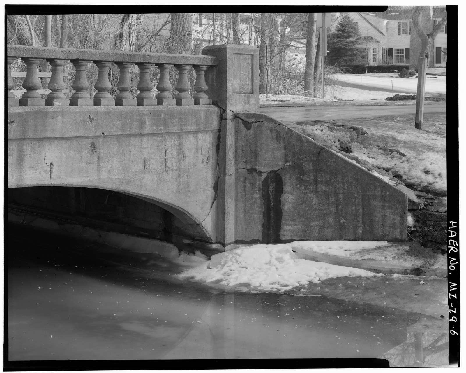 South Bridge, Spanning Quarton Lake branch of River Rouge, Birmingham, Oakland County, MI