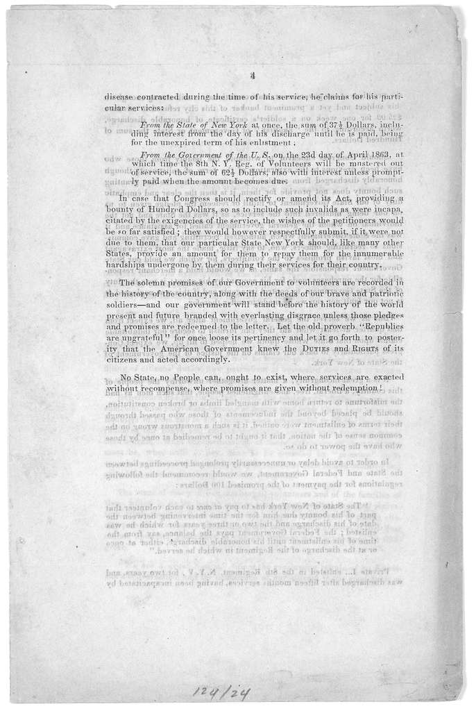The rights & duties of an American citizen; with especial application to our volunteers and their dues. Lecture held before a meeting of N. Y. invalids of our present revolutionary war, on the 4th of January, 1863 by Albert Liberty. [Prospectus]