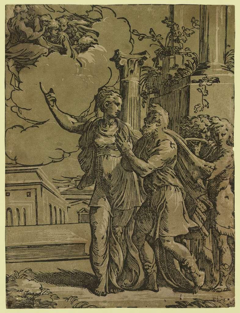 The Tiburtine sibyl and the Emperor Augustus