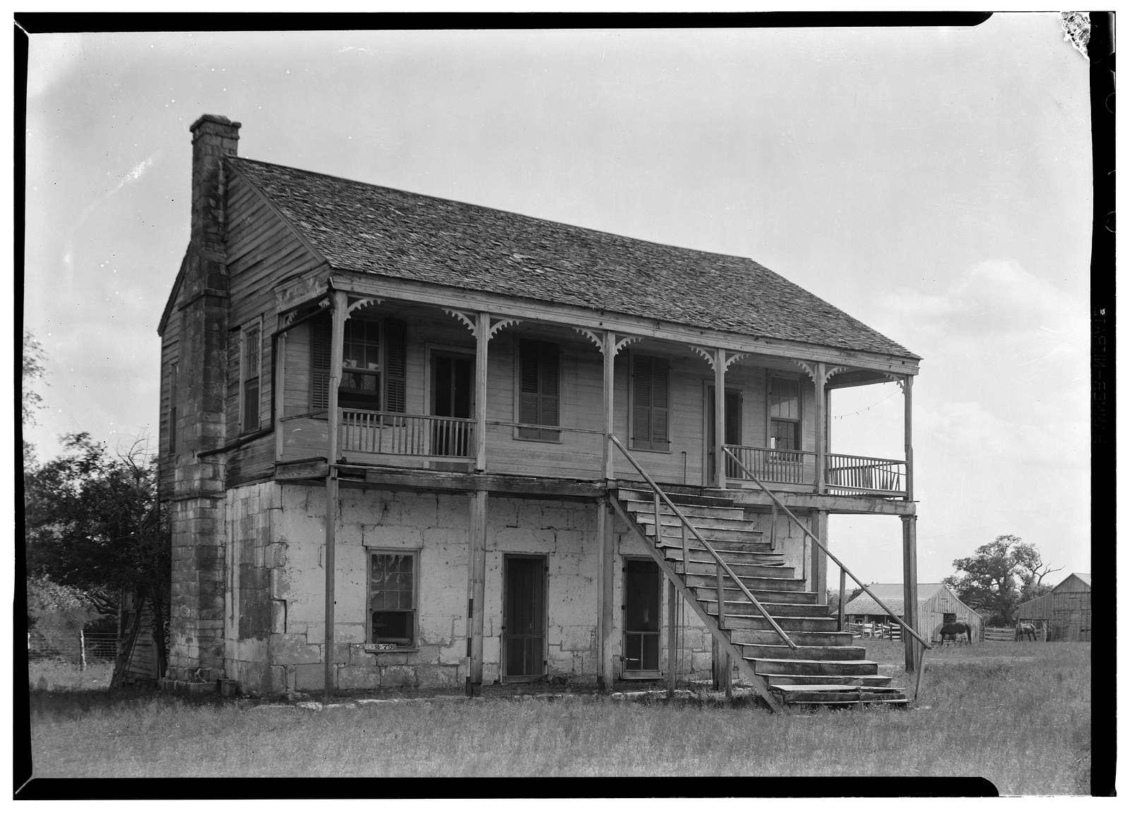 Thomas Murphree House, Thomaston, De Witt County, TX