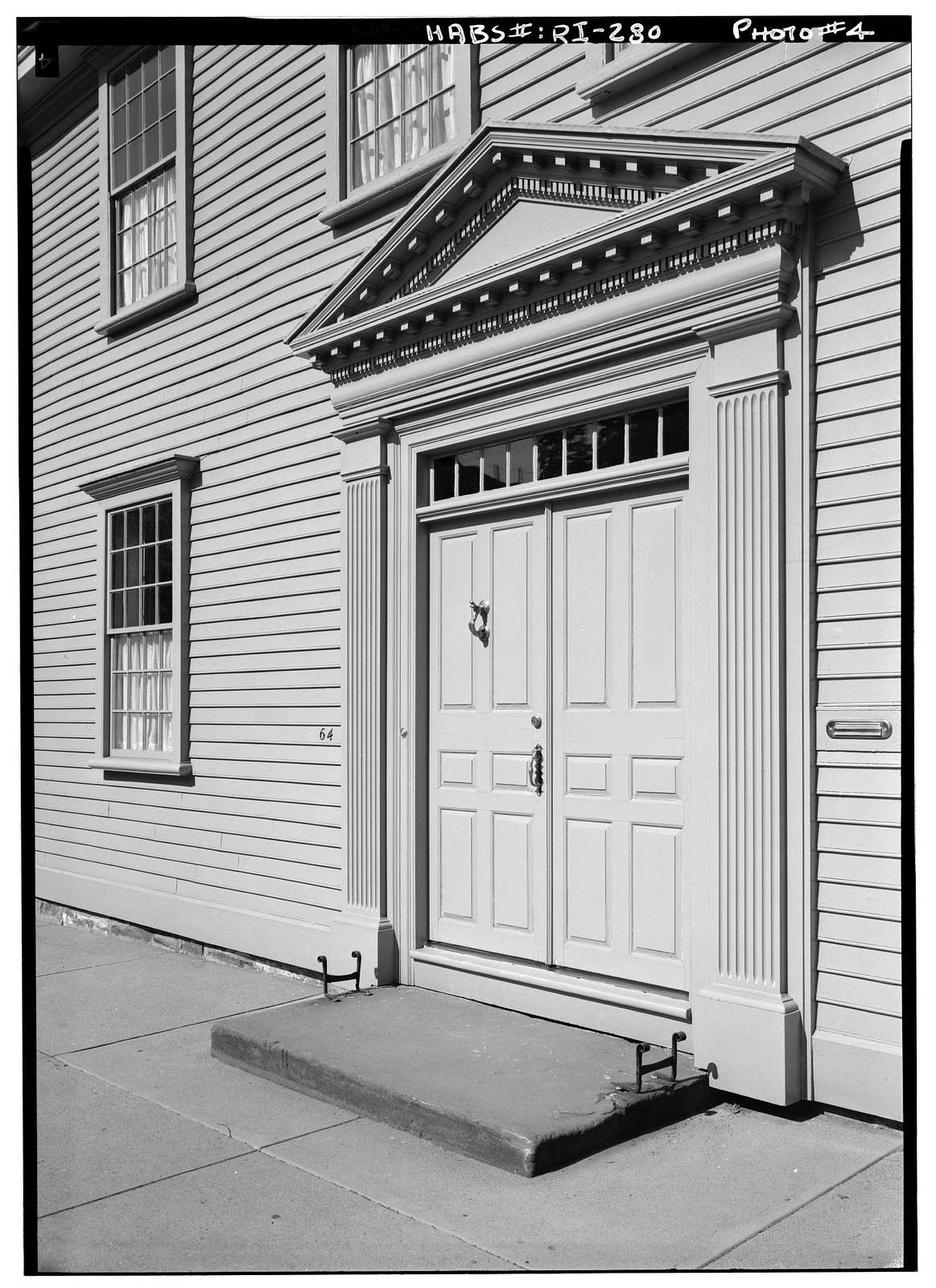 Thomas Robinson House, 64 Washington Street, Newport, Newport County, RI