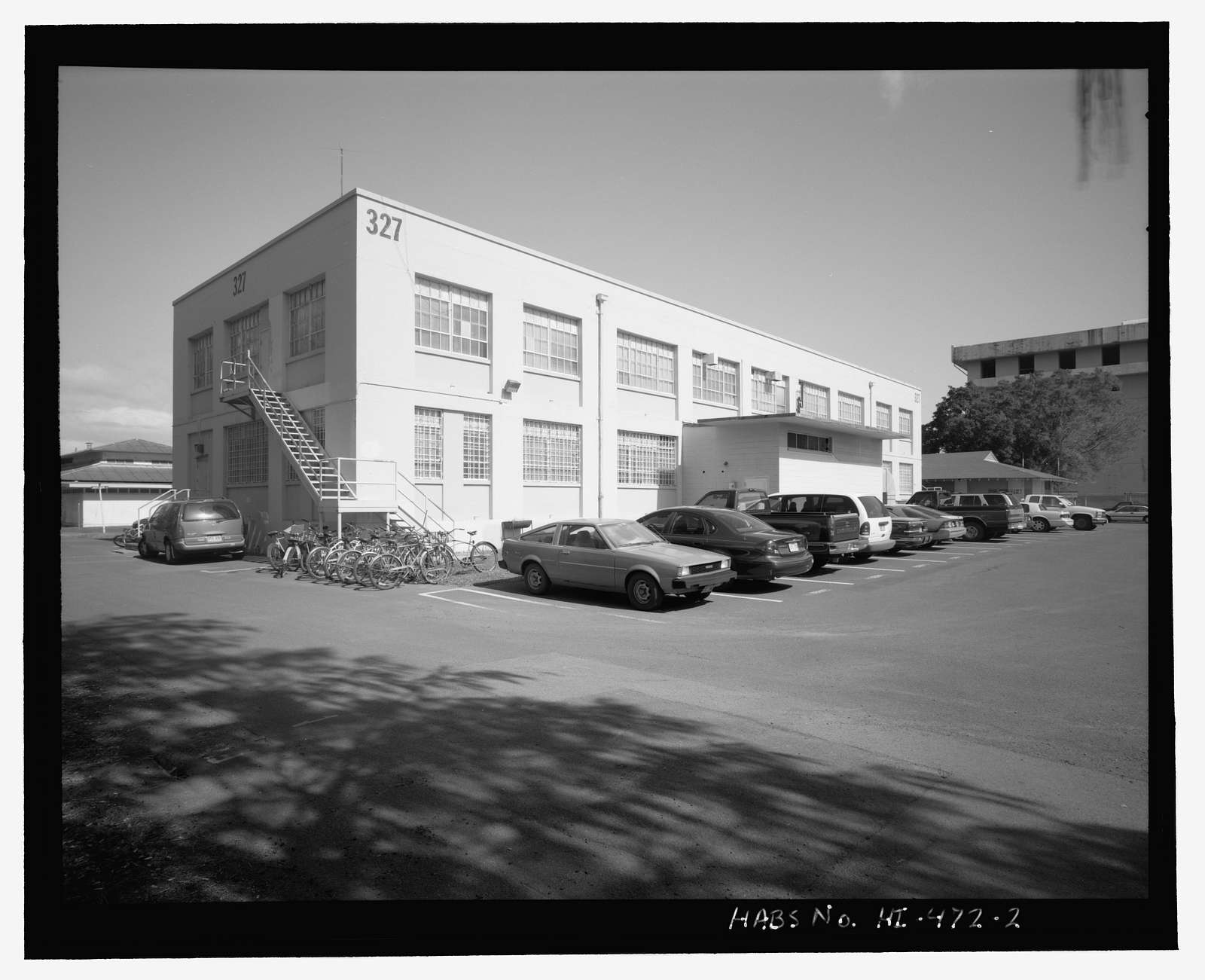 U.S. Naval Base, Pearl Harbor, Storehouse/Hospital, West end of Second Street opposite Facility No. 371A, Pearl City, Honolulu County, HI