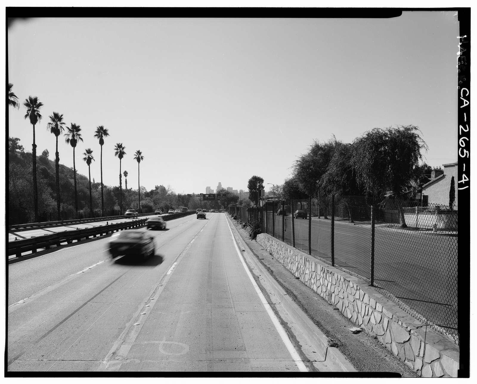 Arroyo Seco Parkway, Los Angeles to Pasadena, Los Angeles, Los Angeles County, CA