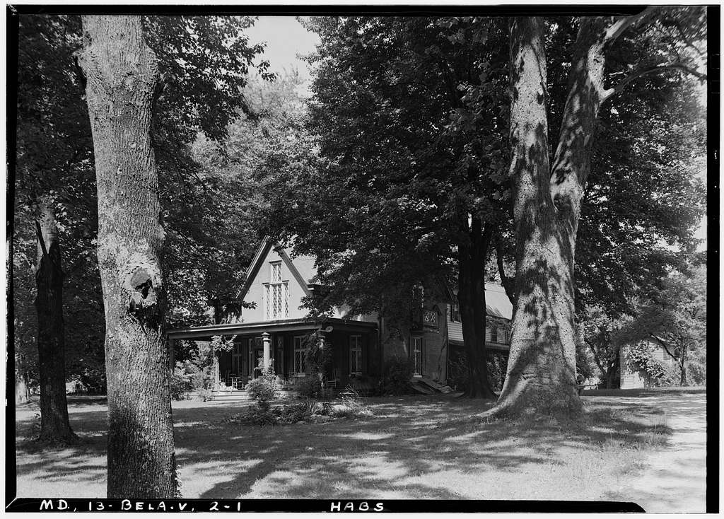 Booth House, Tudor Lane, RFD No. 1, Bel Air, Harford County, MD
