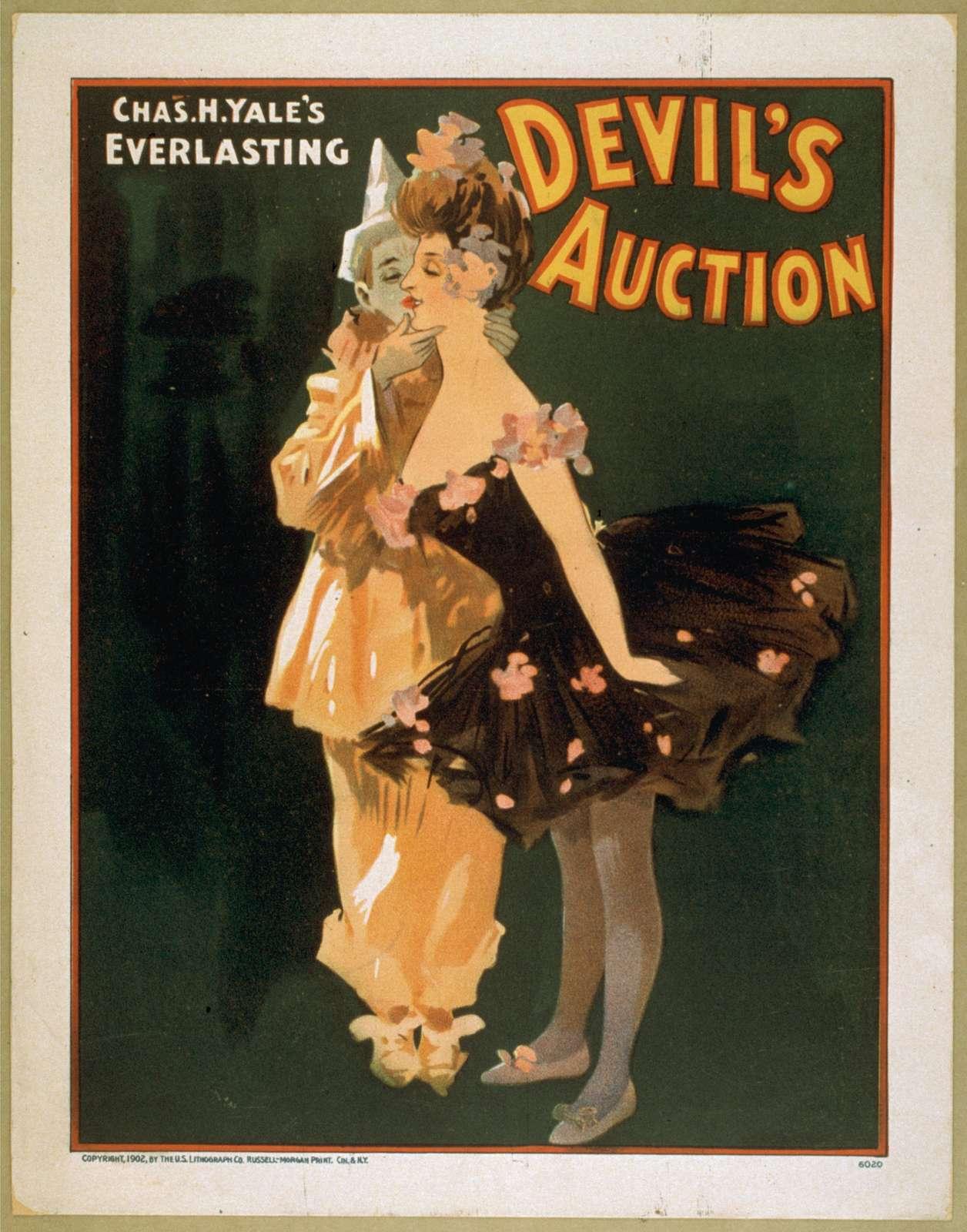 Chas. H. Yale's everlasting Devil's auction